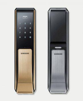 Khóa Cửa Điện Tử Samsung SHS-P717 Mở Khóa Thẻ Từ